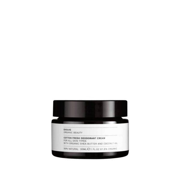 Evolve - Organic beauty cotton fresh deodorant cream
